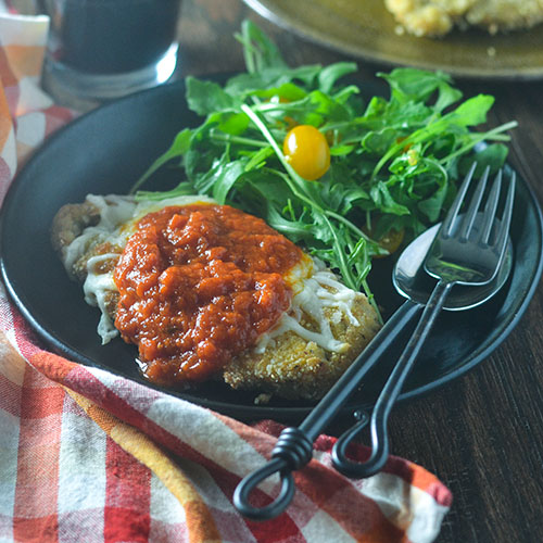 Gluten Free Chicken Parmesan from Feed Your Soul Too