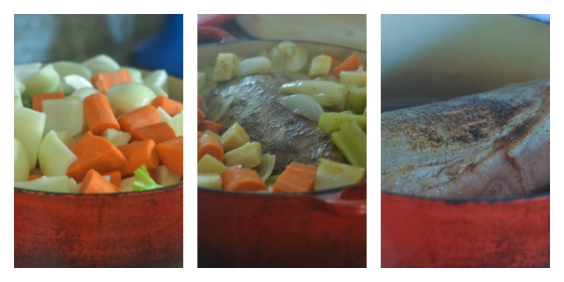 Slow Cooking and Braising the Inside Round Roast