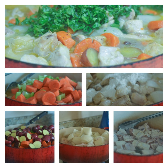 Building the Chicken & Vegetable Stew