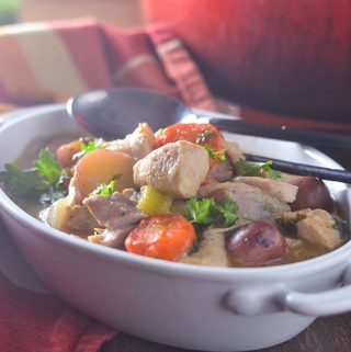 Gluten Free Chicken & Vegetable Stew