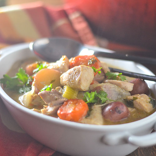 Gluten Free Chicken & Vegetable Stew from Feed Your Soul Too