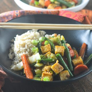 Asian Tofu Stir Fry