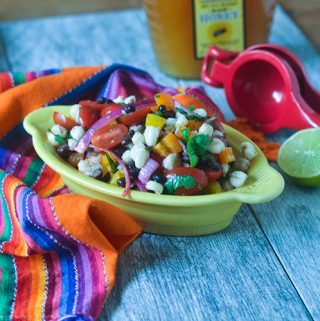 Hominy Black Bean Salad
