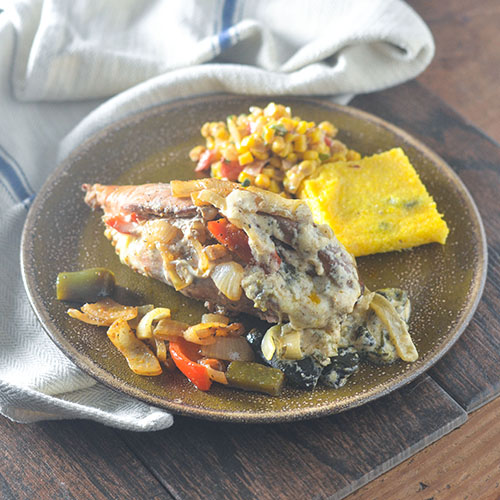 Stuffed Chicken Fajitas #chickenrecipes #cheese #Mexicanrecipes #glutenfree | feedyoursoul2.com