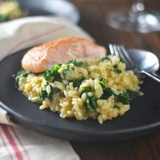 Butternut Squash Kale Risotto