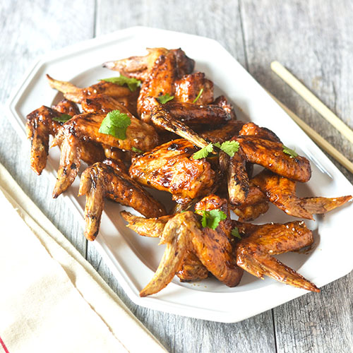 Asian Chicken Wings from Feed Your Soul Too