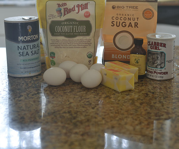 Gluten Free Cake Base Ingredients