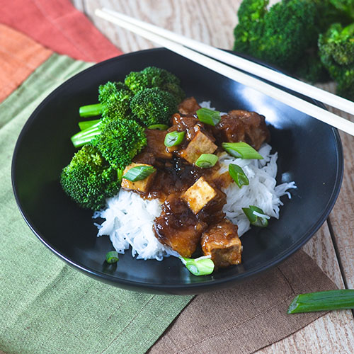 GF Asian Tofu Stir Fry #Asianfood #tofu #glutenfree | feedyoursoul2.com