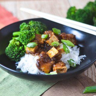GF Asian Tofu Stir Fry