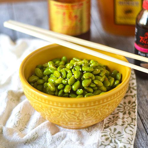 Gluten Free Asian Edamame #Asianfood #edamame #glutenfree | feedyoursoul2.com