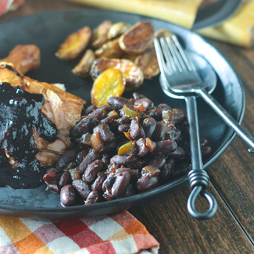 BBQ Smoked Baked Beans #beans #smokedfood #Traegergrills #glutenfree | feedyoursoul2.com