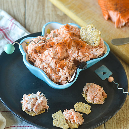 Smoked Salmon Dip from Feed Your Soul Too