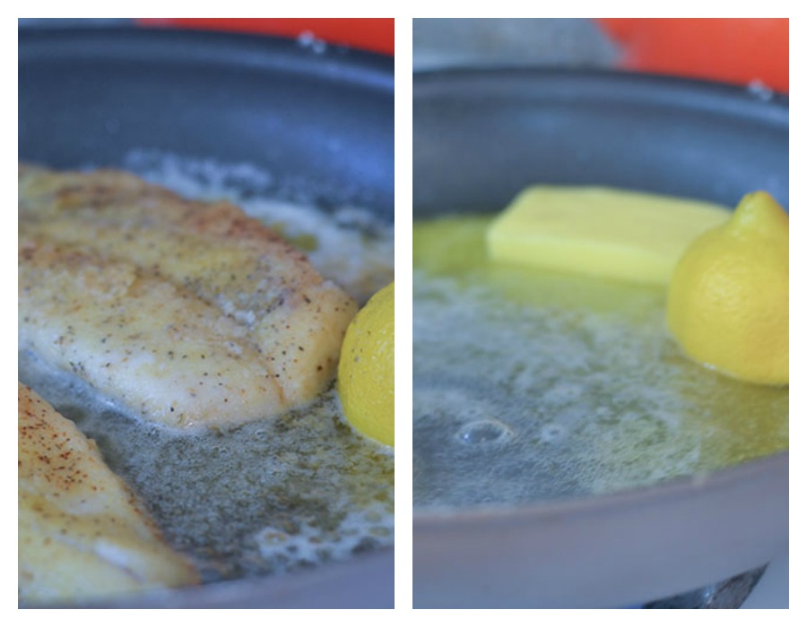 Preparing the Sauce and Cooking the Orange Roughy