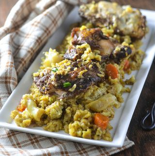 Middle Eastern Chicken & Rice