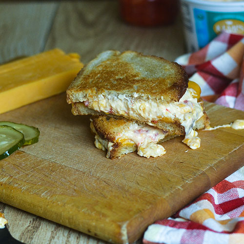 Pimento Grilled Cheese from Feed Your Soul Too