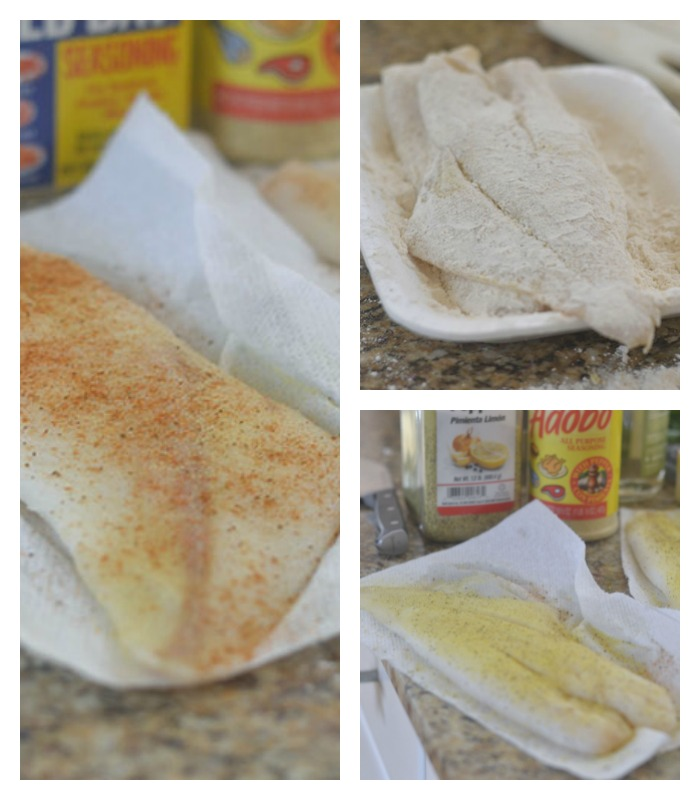 Prepping of the Orange Roughy