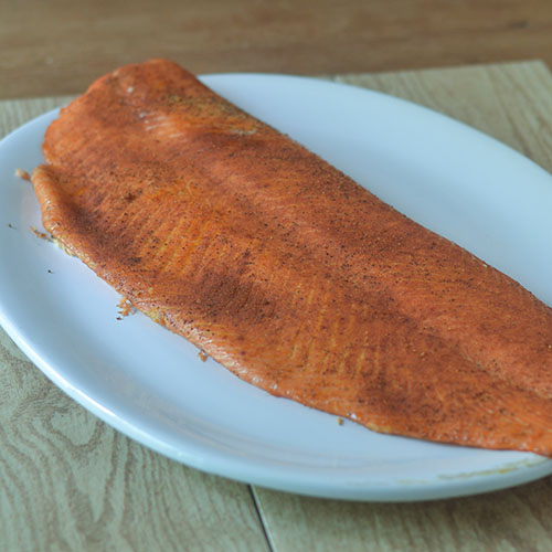 Salmon after Smoking