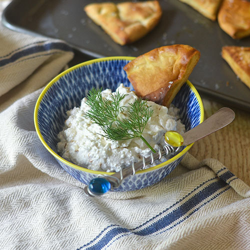 Greek Feta Dip from Feed Your Soul Too