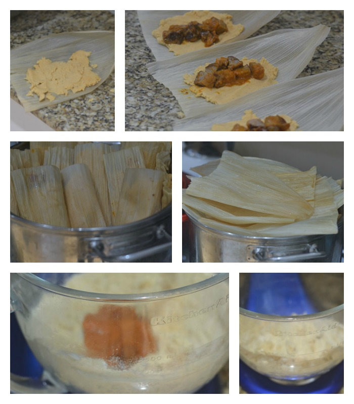 Making of the Tamale