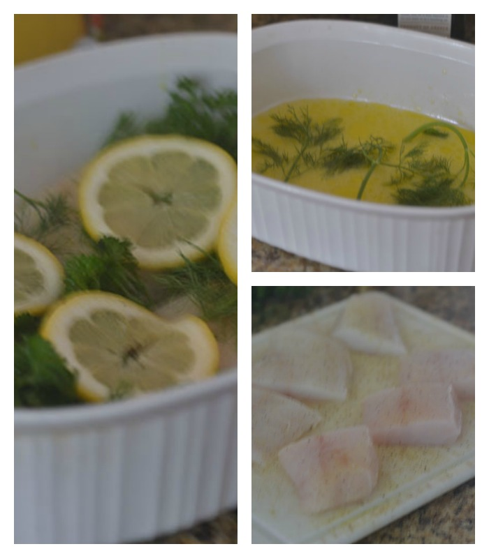 The Layers of the Baking Method for the Cod