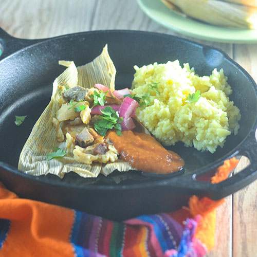 Smoked Duck Tamales #smoked #duck #tamale #Mexicanfood | feedyoursoul2.com