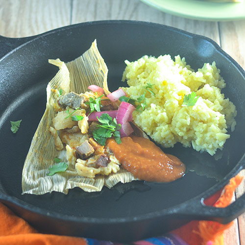 Smoked Duck Tamales from Feed Your Soul Too