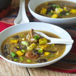 Hot & Sour Mushroom Soup