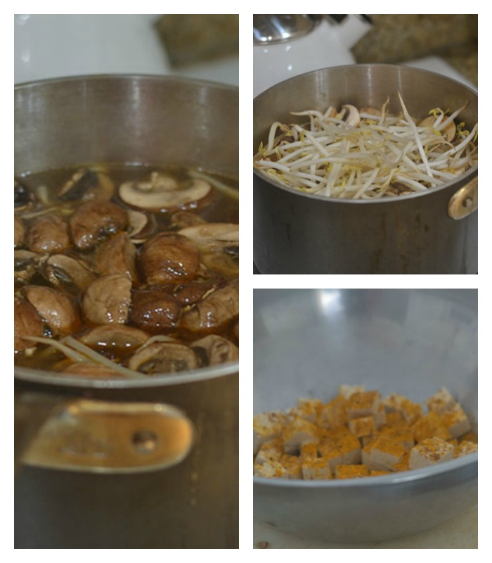 Building the Hot & Sour Mushroom Soup