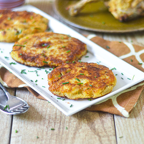 Mashed Potato Cakes from Feed Your Soul Too