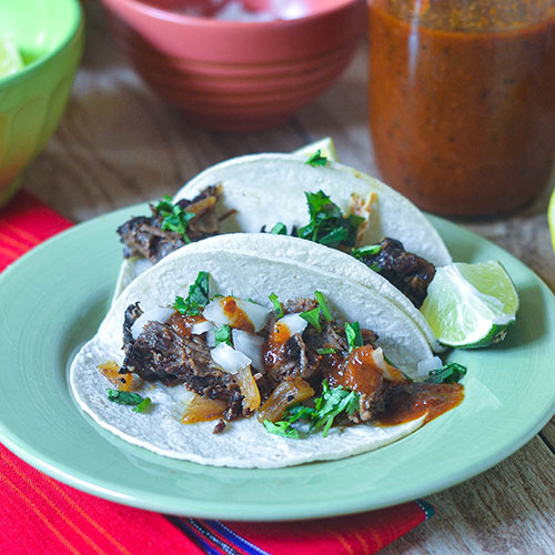 Smoked Pot Roast Tacos from Feed Your Soul Too