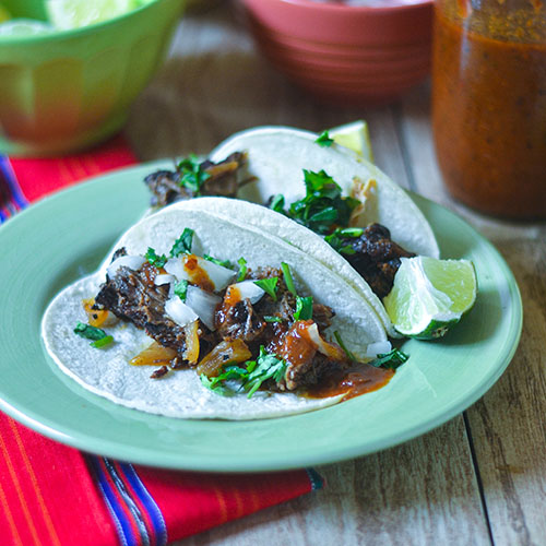 Smoked Pot Roast Tacos #tacos #Mexicanfood #beef | feedyoursoul2.com