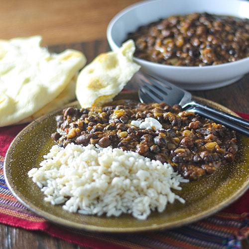 Dal Makhani #Indianfood #vegetarian #lentils | feedyoursoul2.com