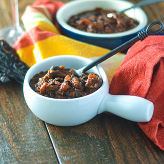 Two Bean Vegan Mexican Chili
