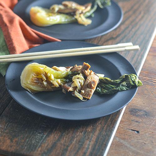 Braised Bok Choy l #glutenfree #vegan #japaneserecipe | feedyoursoul2.com