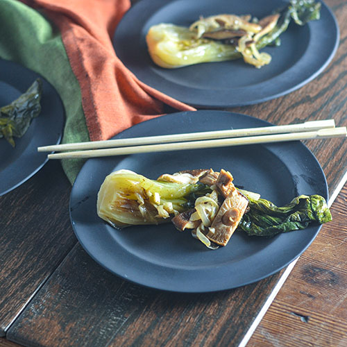 Braised Bok Choy from Feed Your Soul Too