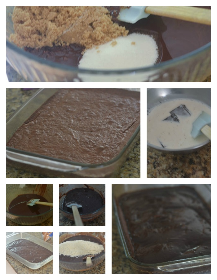 Building and Developing the GF Chocolate Brownie and Chocolate Ganache
