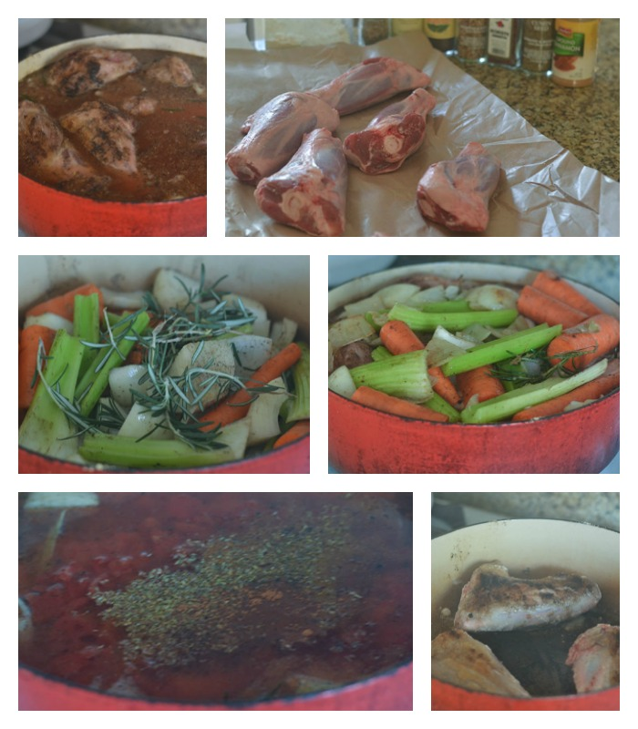 Developing the Flavor of the Lamb Shank