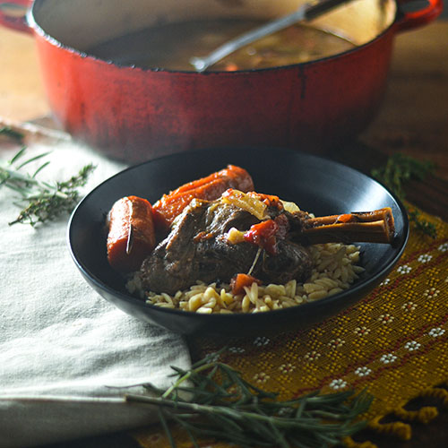 GF Lamb Shank from Feed Your Soul Too