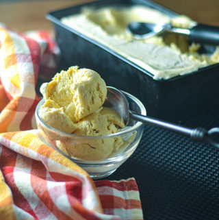 No Churn Sweet Potato Ice Cream
