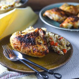 Gluten Free Baked Chicken