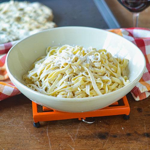 Gluten Free Pasta l #glutenfree #pasta #diy | feedyoursoul2.com