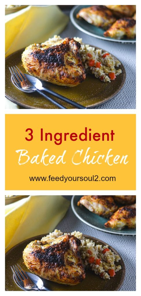 Gluten Free Spiced Chicken l #glutenfree #dinnert #chicken | feedyoursoul2.com