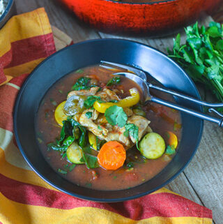 Chicken Stew Veracruz