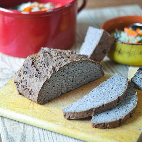 GF Buckwheat Bread l #bread #buckwheat #glutenfree | feedyoursoul2.com