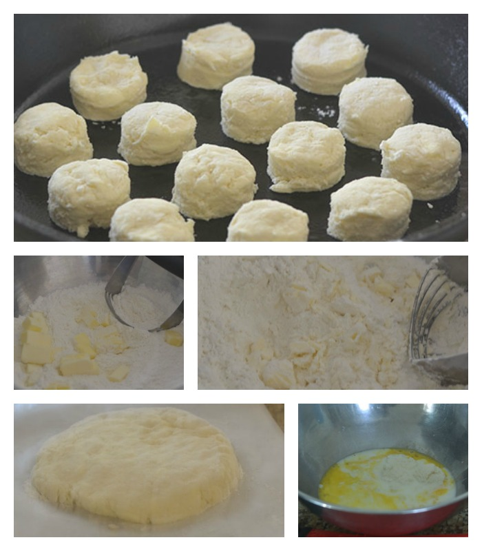 Mixing and Assembling of the Biscuits