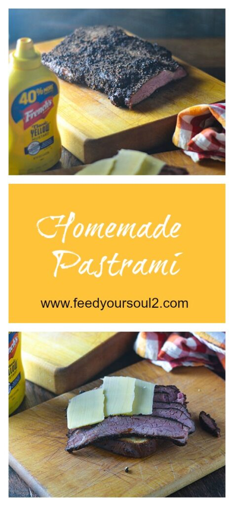 Homemade Pastrami l #glutenfree #smoking #diy | feedyoursoul2.com