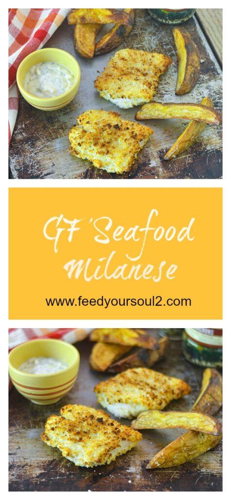 GF Seafood Milanese l #glutenfree #seafood #Italianrecipe   feedyoursoul2.com