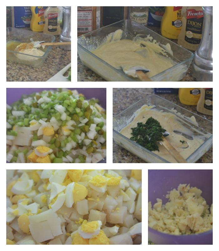 Building of the Potato Salad