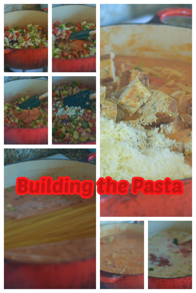 Building the Pasta