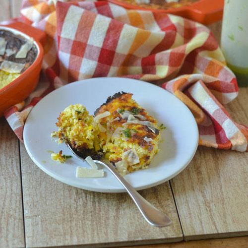 Corn Casserole l #corn #casserole #glutenfree | feedyoursoul2.com